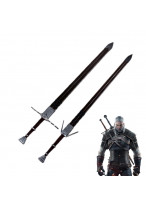 The Witcher 3 Wild Hunt Geralt of Rivia Twin Blade Cosplay Prop