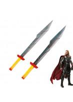 Thor Ragnarok Thor Odinson Double Sword Cosplay Prop