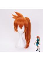 My Hero Academia Kendou Itsuka Long Deep Orange Cosplay Wig