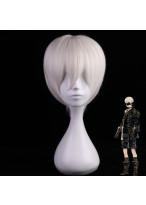 NieR Automata YoRHa No.9 Type S Short Light White Cosplay Wig