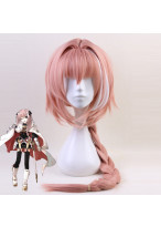 Fate Grand Order Black Rider Astolfo Long Pink Cosplay Wig