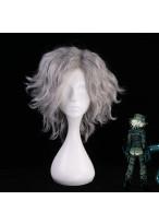 FGO Fate Grand Order Avenger Monte Cristo Edmond Dantes Short Curly Silver Gray Cosplay Wig