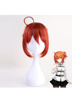 Fate Grand Order Master Gudako Short Curly Orange Cosplay Wig