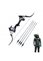 Arrow Season 5 Oliver Queen Green Arrow Bow and Arrow Cosplay Prop