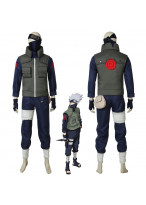 NARUTO Hatake Kakashi Cosplay Costume with Mask