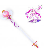 Elsword Elsa Waking state Staff Cane PVC Cosplay Prop