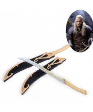 The Lord Of The Rings Legolas Greenleaf Double Daggers Knives Weapon Cosplay Prop
