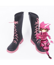 Sword Art Online Gun Gale Online LLEN Fight Kohiruimaki Karen Cosplay Boot Shoes