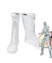Cells at Work WBC White Blood Cell Leukocyte White Cosplay Boot Shoes