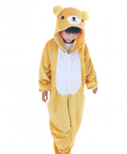 Kids Rilakkuma Pajamas Animal Onesies Costume Kigurumi
