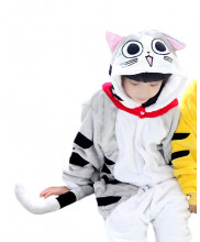 Kids Chi Cat Pajamas Animal Onesies Costume Kigurumi