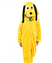 Kids Pluto Dog Pajamas Animal Onesies Costume Kigurumi