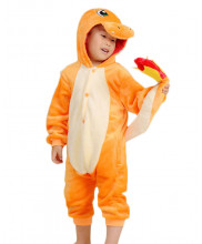 Kids Charmander  Pajamas Animal Onesies Costume Kigurumi
