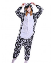 Adult Zebra Pajamas Animal Onesies Costume Kigurumi