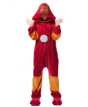 Adult Iron Man Cosplay Pajamas Animal Onesies Costume Kigurumi