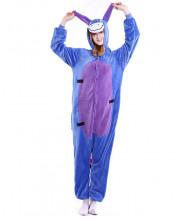 Adult Winnie the pooh Eeyore Pajamas Animal Onesies Costume Kigurumi