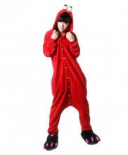 Adult Sesame Street ELMO Pajamas Animal Onesies Costume Kigurumi