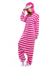 Adult Cheshire Cat Pajamas Animal Onesies Costume Kigurumi