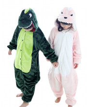 Kids Dinosaur Pajamas Animal Onesies Costume Kigurumi