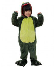 Kids Green Dinosaur Pajamas Animal Onesies Costume Kigurumi
