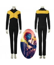 X-Men Dark Phoenix Mystique Raven Darkholme Cosplay Costume Women's Halloween Outfit