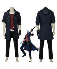 Devil May Cry DMC5 NERO Cosplay Full Suit Costume Halloween Outfit