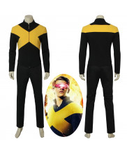 X-Men Dark Phoenix Cyclops Scott Summers Cosplay Costume Halloween Outfit