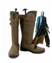 Devil May Cry DMC Vergil Cosplay Shoes Boots