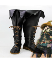 Final Fantasy XIVDark Magician Cosplay Shoes Boots