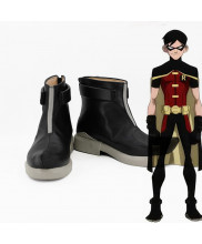 Young Justice Nightwing Robin Dick Grayson Cosplay Shoes