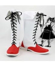 Toho Project Hakurei Reimu Cosplay Boot Shoes