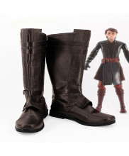 Starwars Anakin Skywalker Cosplay Shoes Boots