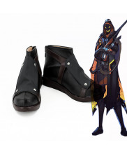 OW Overwatch Ana Amari Cosplay Shoes