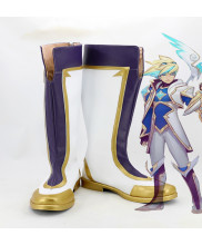 LOL Star Guardian Ezreal Cosplay Boot Shoes