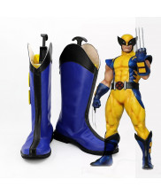 X-men Wolverine Logan Cosplay Blue Shoes Boots