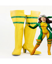 X-Men Ms. Rogue Anna Marie Cosplay Shoes Boots