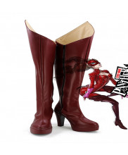Persona 5 Anne Takamaki Panther Cosplay Shoes Boots