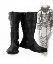 Hellsing Alucard Captain Hans Cosplay Boot Shoes