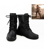 Tomb Raider Lara Croft Cosplay Boot Shoes