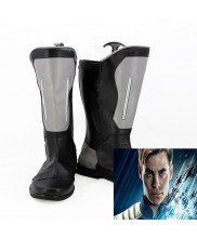 Star Trek Beyond Captain Kirk Cosplay Boot Shoes