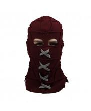BrightBurn Red Hood Horror Mask Halloween Cosplay Prop