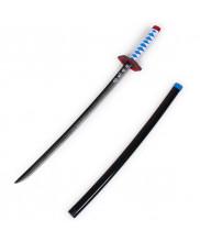 Tomioka Giyuu Prop Cosplay Replica Sword with Sheath Demon Slayer Kimetsu No Yaiba