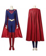 Supergirl Costume Cosplay Suit with Cloak Kara Zor-El Supergirl Season 5 Ver.1