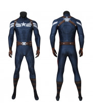 Captain America Costume Cosplay Suit Steve Rogers Captain America The Winter Soldier 3D Printed