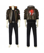Cyberpunk 2077 Costume Jacket V Cosplay Full Set Vision 1