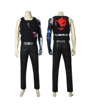 Cyberpunk 2077 Johnny Silverhand Costume Cosplay Suit Keanu Reeves Full Set