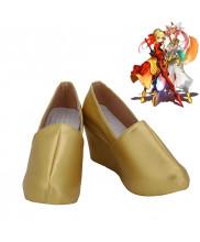 Fate Extra CCC Caster Tamamo no Mae Amaterasu Origin Cosplay Shoes Women Boots