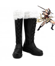 Fire Emblem Owain Eudes Cosplay Shoes Men Boots