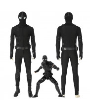 Spider-Man PS4 Stealth Suit Cosplay Costume Men Outfit