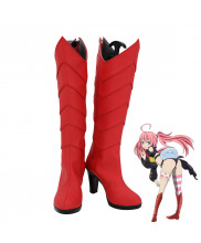 That Time I Got Reincarnated as a Slime Milim Nava Cosplay Shoes Women Boots